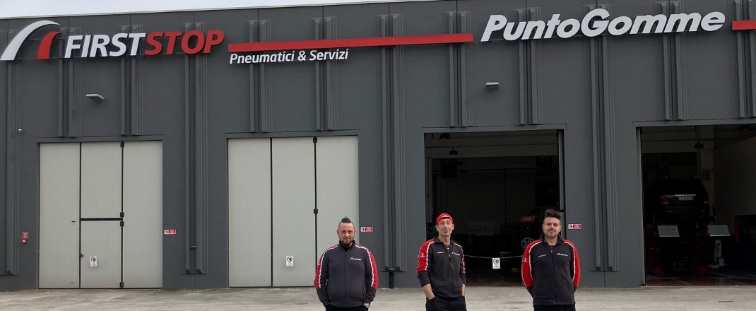FIRST STOP PUNTOGOMME CONTINI - Our Story