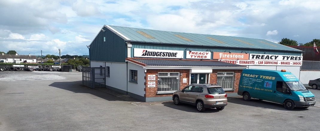 FIRST STOP - Treacy Tyres, Portumna - Our Story