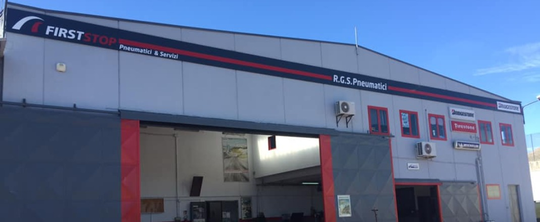 FIRST STOP R.G.S. PNEUMATICI - Our Story