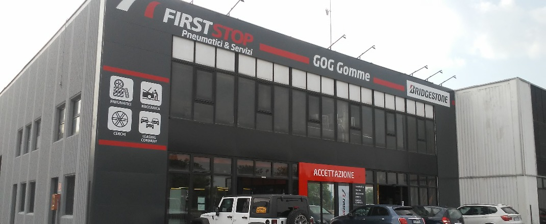 FIRST STOP GOG GOMME - Our Story