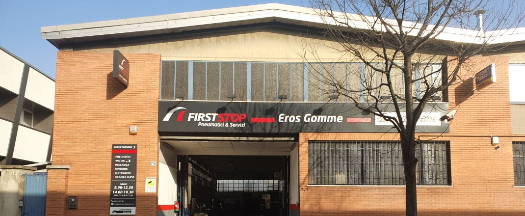 FIRST STOP EROS GOMME - Our Story